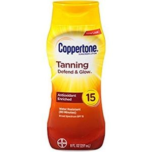 Coppertone Tanning Lotion SPF 15